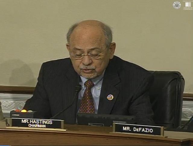Committee Chair, Doc Hastings
